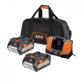 AEG Pack de chargeur et 2 batteries SETLL1850BL
