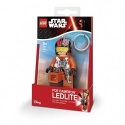 LEGO Star Wars Porte-clés LED Poe Dameron  - Pieds lumineux