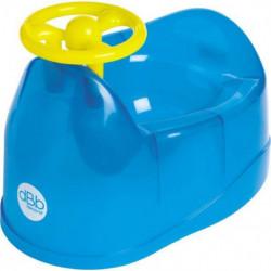 DBB REMOND Pot pour bébé avec volant - Bleu translucide