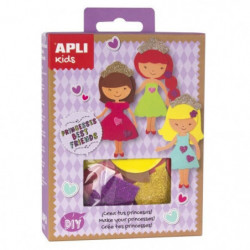 APLI Mini kit crée ta princesse - En mousse EVA