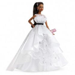 BARBIE - Barbie 60eme Anniversaire Brune - Poupée Mannequin