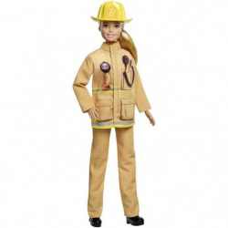 BARBIE - Barbie Pompier - 60eme Anniversaire - Poupée Manneq