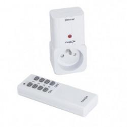 CHACON Kit prise télécommandée variateur avec télécommande