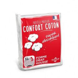SWEETHOME Protege-matelas confort polycoton - 160x200 cm
