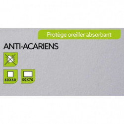 TODAY Protege Oreiller Absorbant Anti-Acariens 50x70cm - 100