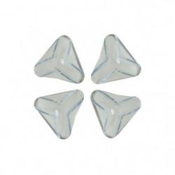 NYDALIS  Protection coins de table (x4) Sécurité Bébé