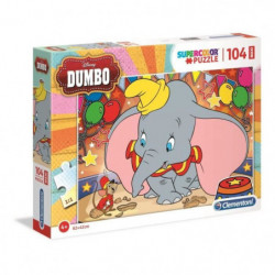 DUMBO Puzzle Maxi 104 pieces - 68 X 48 cm