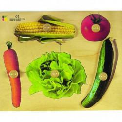 BSM Jouet d'encastrement Les Légumes