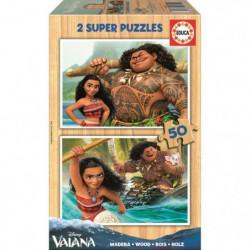 VAIANA - 2 Puzzles 50 Pieces