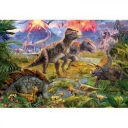 EDUCA - Puzzle Dinosaures 500 pcs