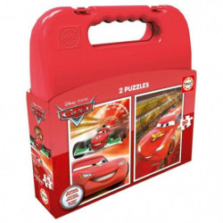 EDUCA - Malette Puzzles CARS 2x20pcs