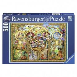 DISNEY Puzzle Famille 500 pcs
