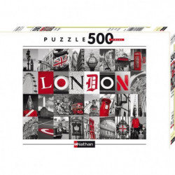 Puzzle Souvenirs De Londres 500 pcs