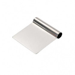 DE BUYER Coupe pate droit - Inox - 12 cm