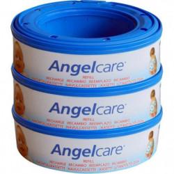 ANGELCARE Recharges Rondes Compatibles : Classique, Mini, Co