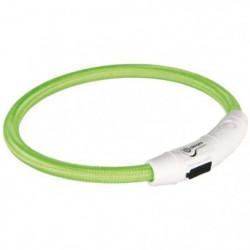 TRIXIE Flash Anneau lumineux USB M?L: 45 cm/ø 7 mm vert pour