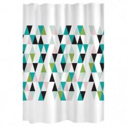 GELCO DESIGN Rideau de douche Kio - 180x200 cm - Multicolore