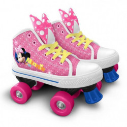 DISNEY MINNIE Patins à roulettes Quad - Taille 30