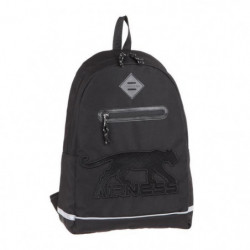 AIRNESS Sac a Dos - 1 Compartiment - 31 cm - Noir - College