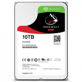 """Seagate NAS HDD Iron Wolf 10To 3,5""""  ST10000VN0004"""
