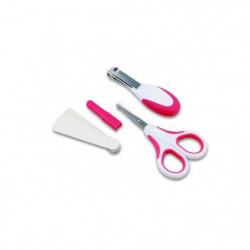 NUVITA Kit de soin ongles pour bébé - Rose