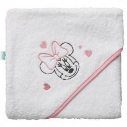 DISNEY Cape de bain Minnie - Broderie - Eponge 85% coton 15%