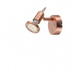 GLOBO LIGHTING Spot LED cuivre mat - L 8 x l 11,5 x H 11 cm