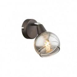 GLOBO LIGHTING Spot LED  -  Verre fumé translucide  - L 9,7