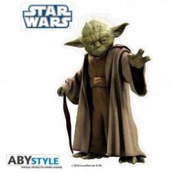 Stickers Star Wars - 16x11cm  / 2 planches - Yoda  / Symbole