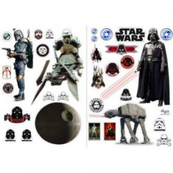 Stickers Star Wars - 100x70cm - L'empire (blister)  - ABYsty