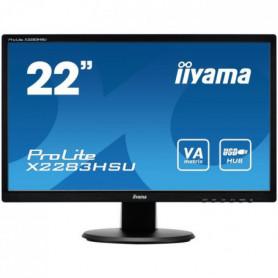 """iiYama écran 22"""" ProLite X2283HSU-B1DP"""