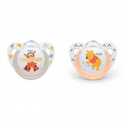 NUK 2 sucettes Taille 2 Winnie The Pooh