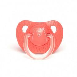 SUAVINEX Sucette physiologique ours +18 mois - rose