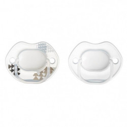 TOMMEE TIPPEE Sucettes 0-6m Urban style - neutre