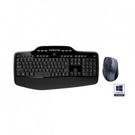 Logitech pack clavier-souris sans fil - MK710