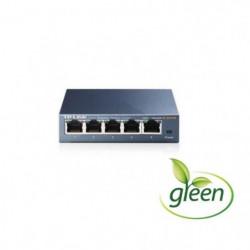 TP-LINK Switch de bureau 5 ports Gigabit Boîtier métal -SG10