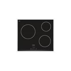 BOSCH - PKM651B17E - Table vitrocéramique bords biseautés -