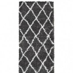 ASMA Tapis de couloir Shaggy - Style berbere - 80 x 140 cm 87054
