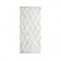 COTTON BERBERE Tapis de couloir - 70 x 110 cm - 100 % coton 87058