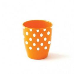 Plastorex Gobelet - Mélamine Décor - Orange