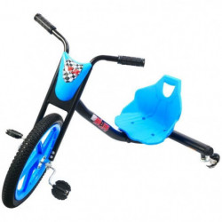 BIBEE-DRIFT RIDER Tricycle 901757 - Noir et bleu