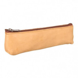 ELBA Trousse - 1 Compartiment - 19 cm - Beige - College & Ly