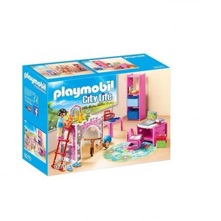 Playmobil 9270 La Maison Moderne Chambre D Enfant Isleden