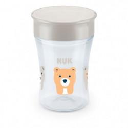 NUK Tasse Evolution Cup - 360 silicone - Mixte 9m+