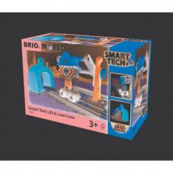 BRIO World  - Smart Tech - 33827 - Grue de Chargement de Mar