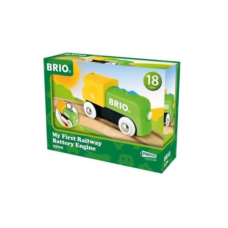 Ma Bois 33705 A Brio Pile Jouet Premiere Locomotive En SUVLqpzMG