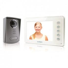 AVIDSEN Visiophone 2 fils Ylva avec écran LCD couleur