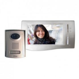 """OTIO Interphone vidéo couleur ultra plat 2 fils 7"""""""