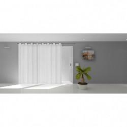 SOLEIL D'OCRE Voile a oeillets Natacha - 280 x 250 cm - Blan