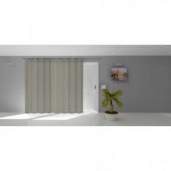 SOLEIL D'OCRE Voile a oeillets Noémie - 280 x 250 cm - Taupe